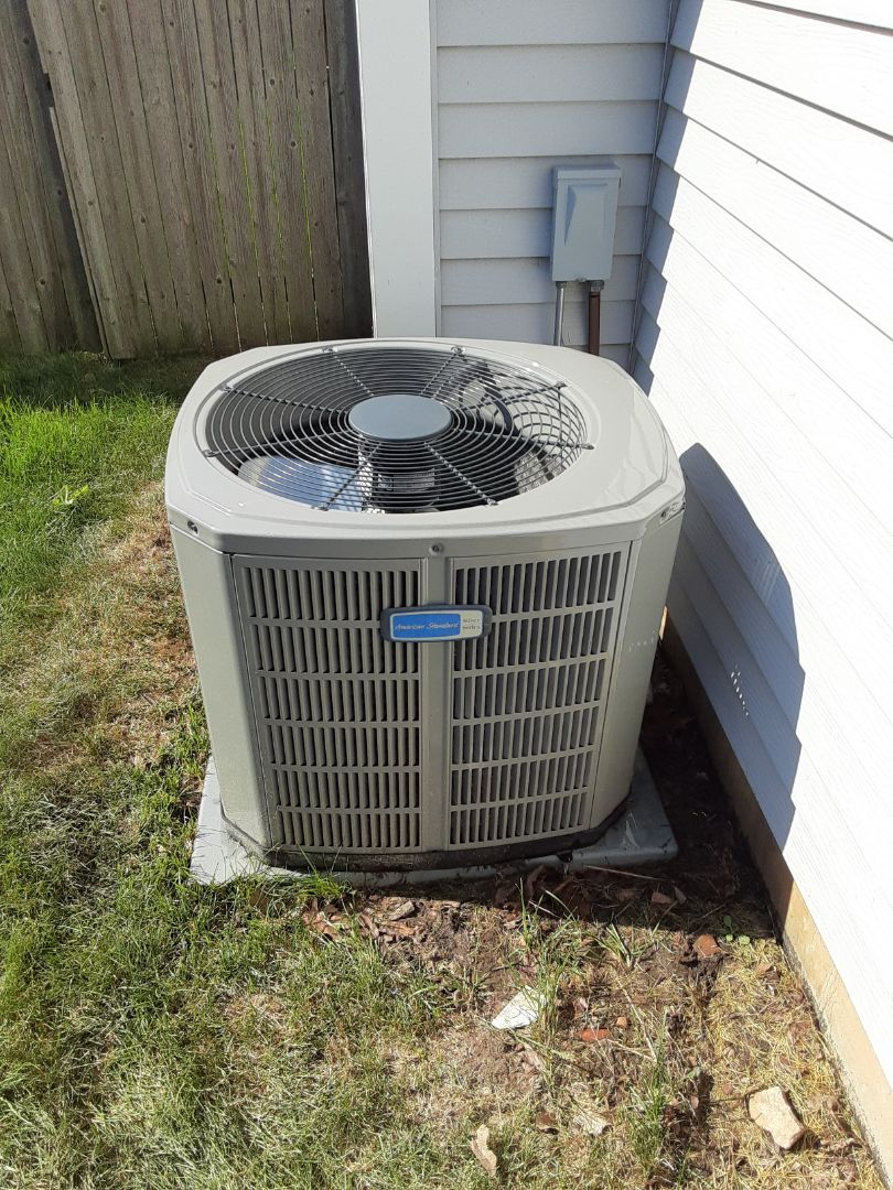 Bolingbrook, IL - Complete ac maintenance. No recommendations at this time.