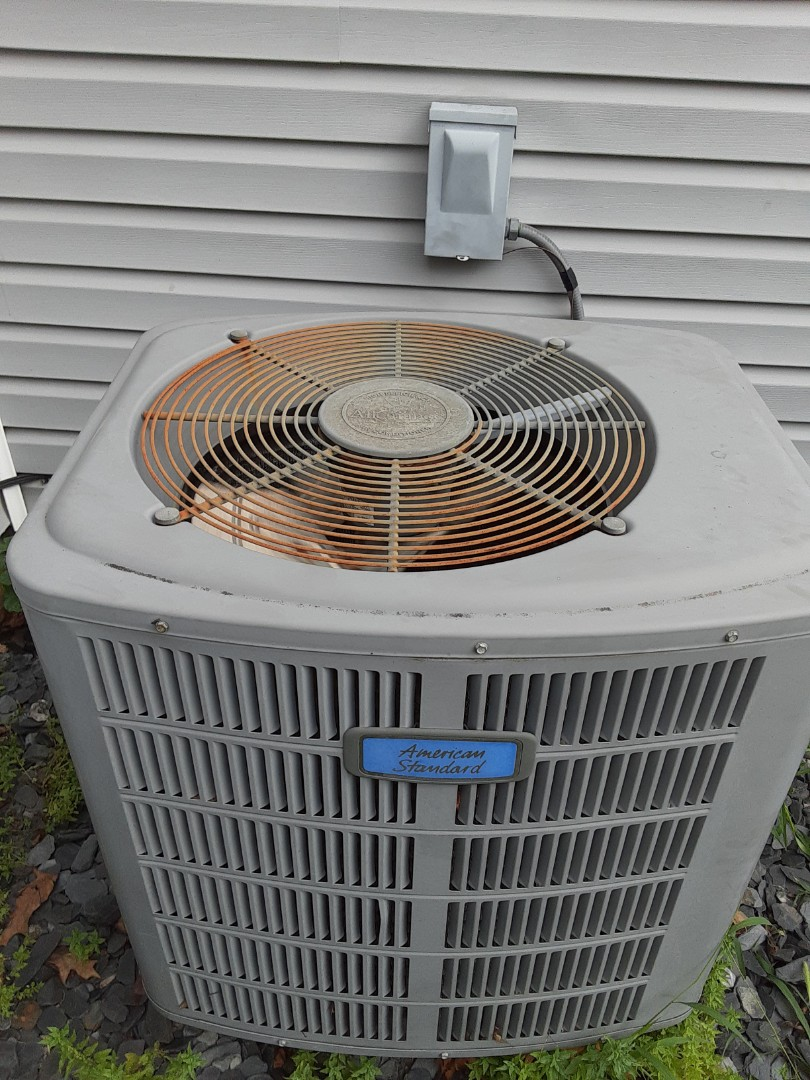 Complete ac maintenance. Replaced blower motor run capacitor.