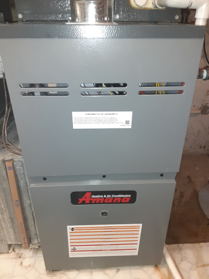 Complete furnace maintenance. No recommendations at this time.