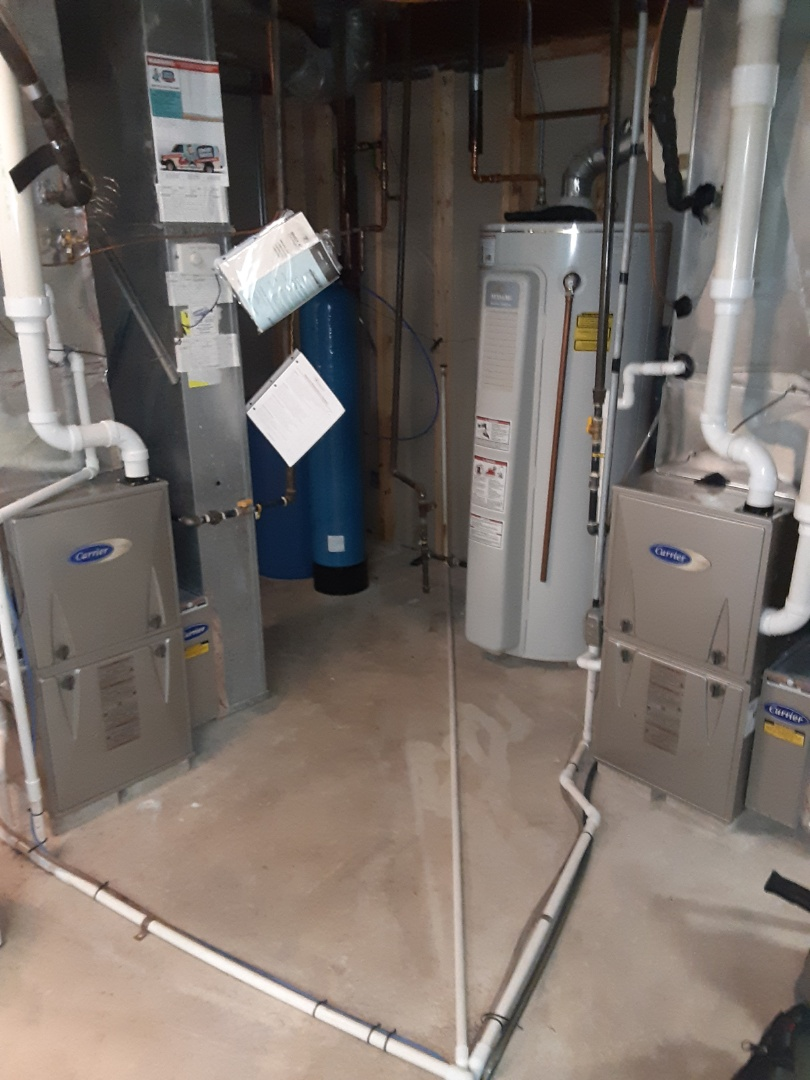 Complete 2 system furnace maintenances. No recommendations at this time.