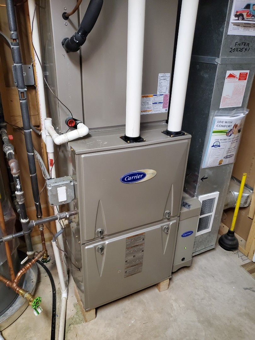 Crest Hill, IL - Successfully completed furnace maintenance with little to no problems for our comfort plus member