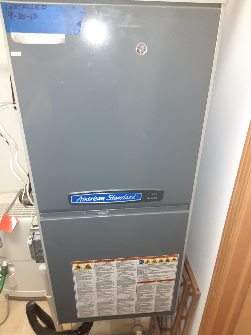 Complete furnace maintenance. Recommend adding a bypass humidifier.