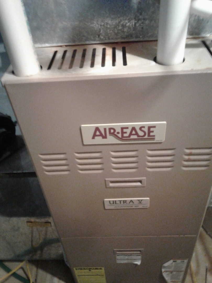 Completed furnace maintenance