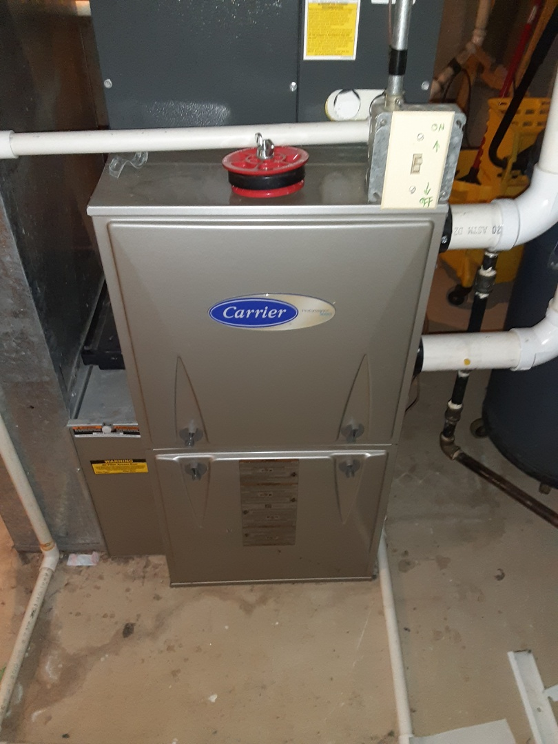 Aurora, IL - Complete furnace maintenance. Recommend a duct cleaning.