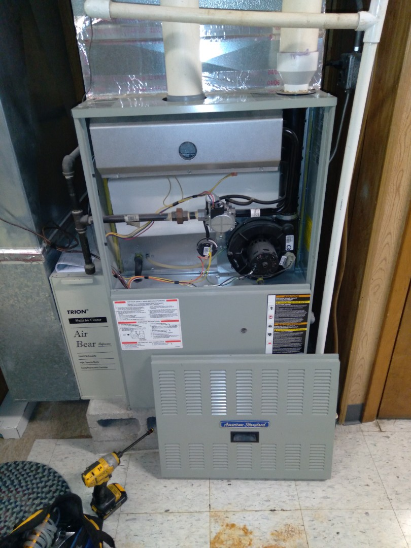 Aurora, IL - Completed fall maintenance on three furnaces.