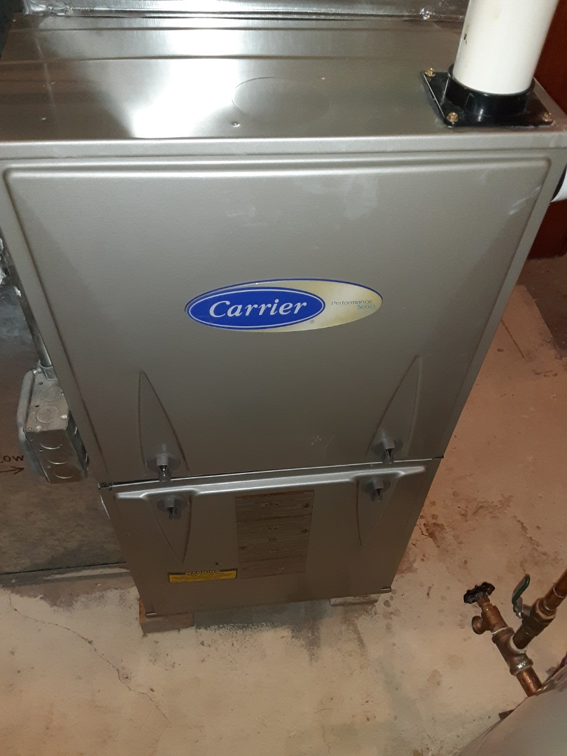 Aurora, IL - Complete furnace and hot water heater maintenance. Recommend adding a humidifier.