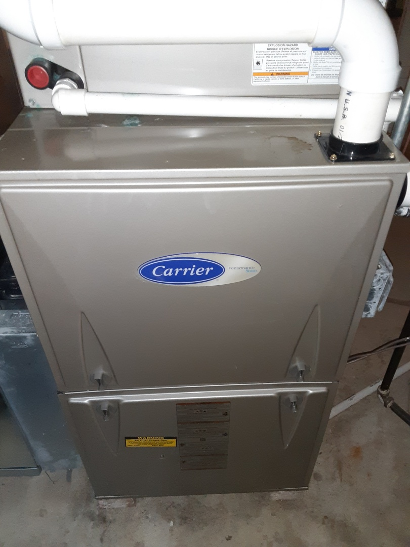 Aurora, IL - Complete furnace, humidifier, and hot water heater maintenance. Recommend adding a uv light air purifier.