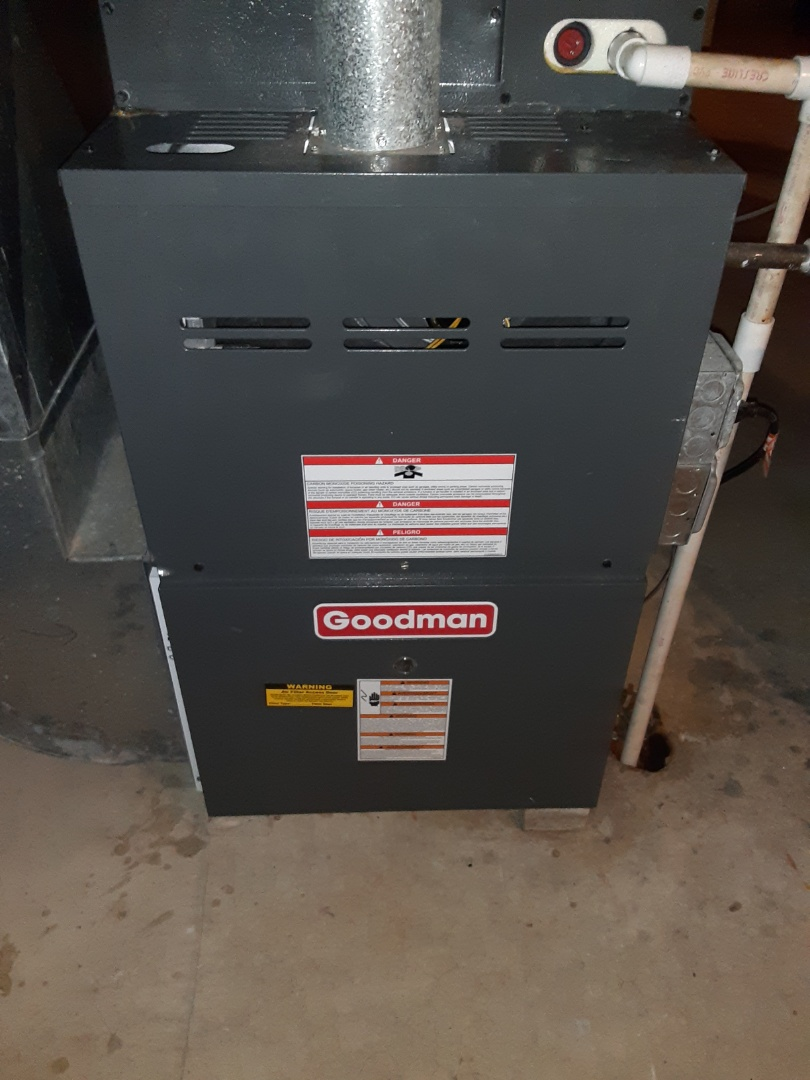 Naperville, IL - Complete furnace maintenance. Recommend humidifier maintenance and hwh maintenance. Also recommend a duct cleaning.