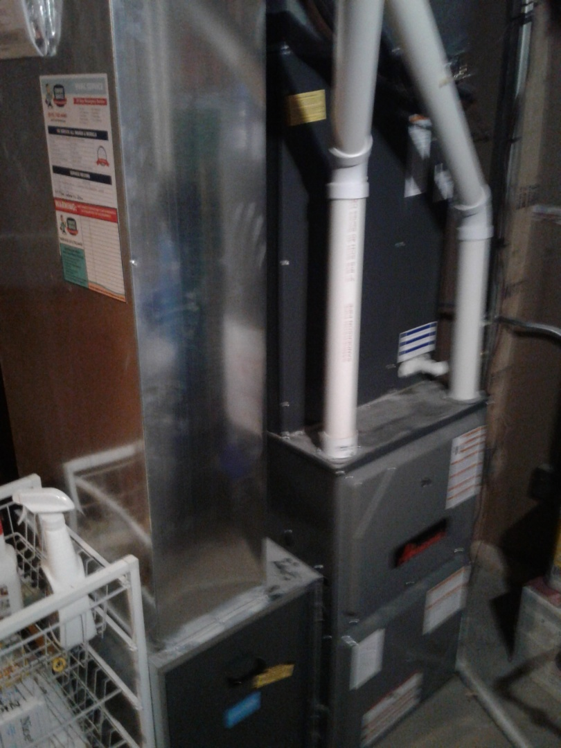 Naperville, IL - Completed furnace maintenance on amana
