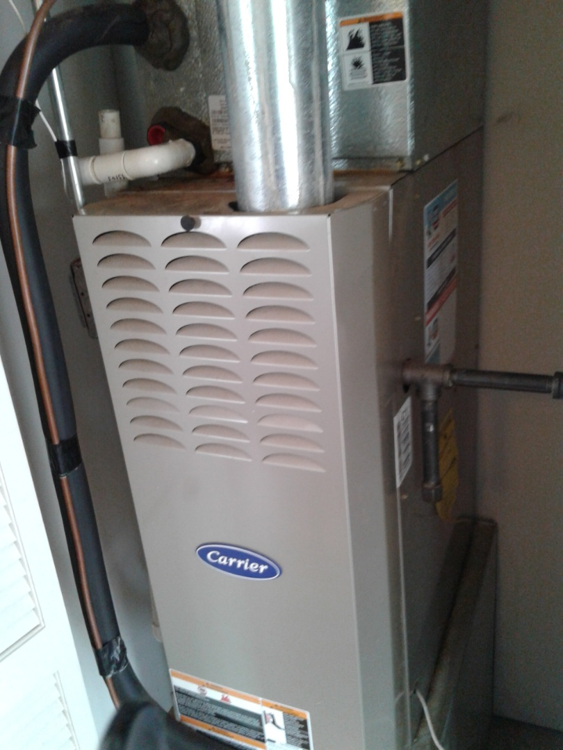Joliet, IL - Completed furnace maintenance on carrier.