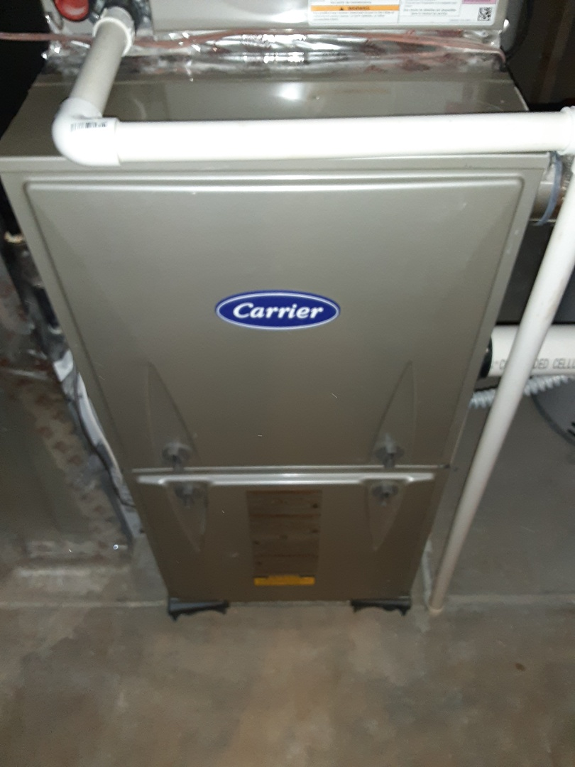 Complete furnace and humidifier maintenance. Recommend adding humidifier maintenance to comfort plus plan.