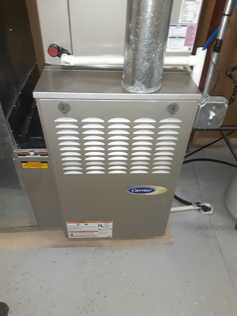 Complete furnace maintenance. Recommend a hwh maintenance.