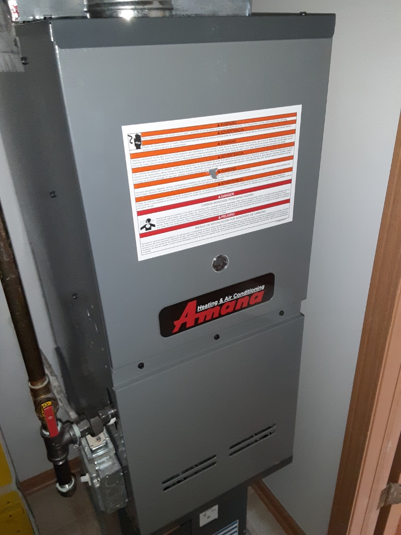 Romeoville, IL - Complete furnace maintenance. We will return on Oct 2 to install humidifier.
