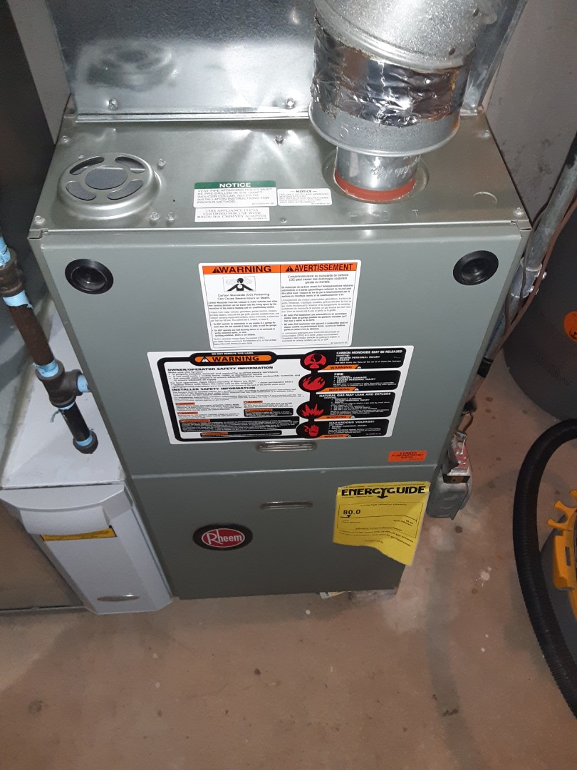 Joliet, IL - Complete furnace maintenance. Recommend replacing thermostat and humidifier.