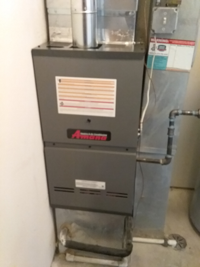 Romeoville, IL - Complete amana furnace install