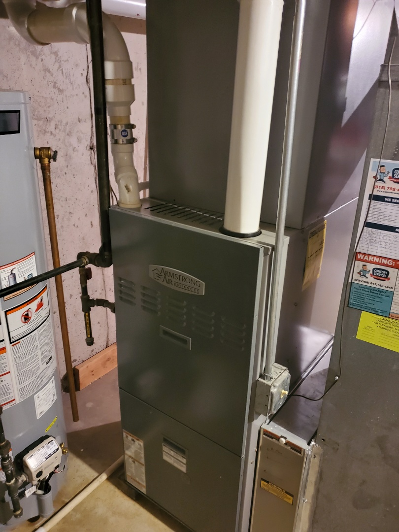 Woodridge, IL - Successfully completed furnace maintenance with little to no problems for our comfort plus member!