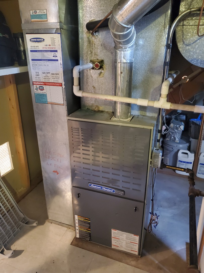 Completed both furnace and humidifer maintenance for our comfort us member!