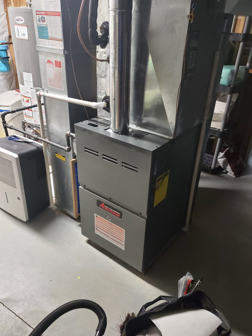 Crest Hill, IL - Successfully completed furnace and humidifer maintenance for our newest comfort plus member!
