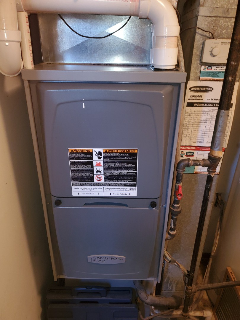 Aurora, IL - Completed furnace and humidifer maintenance for our comfort plus member!