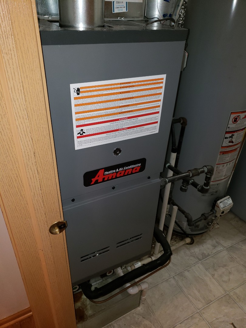 Crest Hill, IL - Complete furnace diagnostic. Replaced thermostat. Signed up for comfort plus and is owed furnace and ac maintenances at no charge.