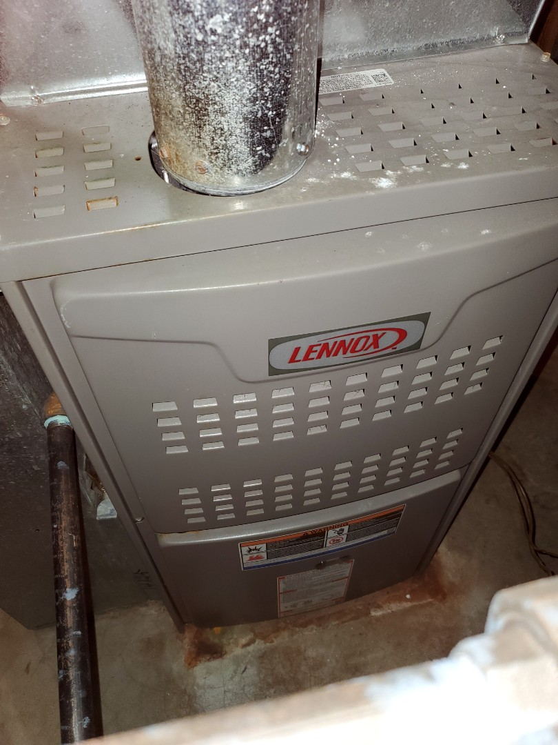Naperville, IL - Completed furnace maintenance for our comfort plus member!