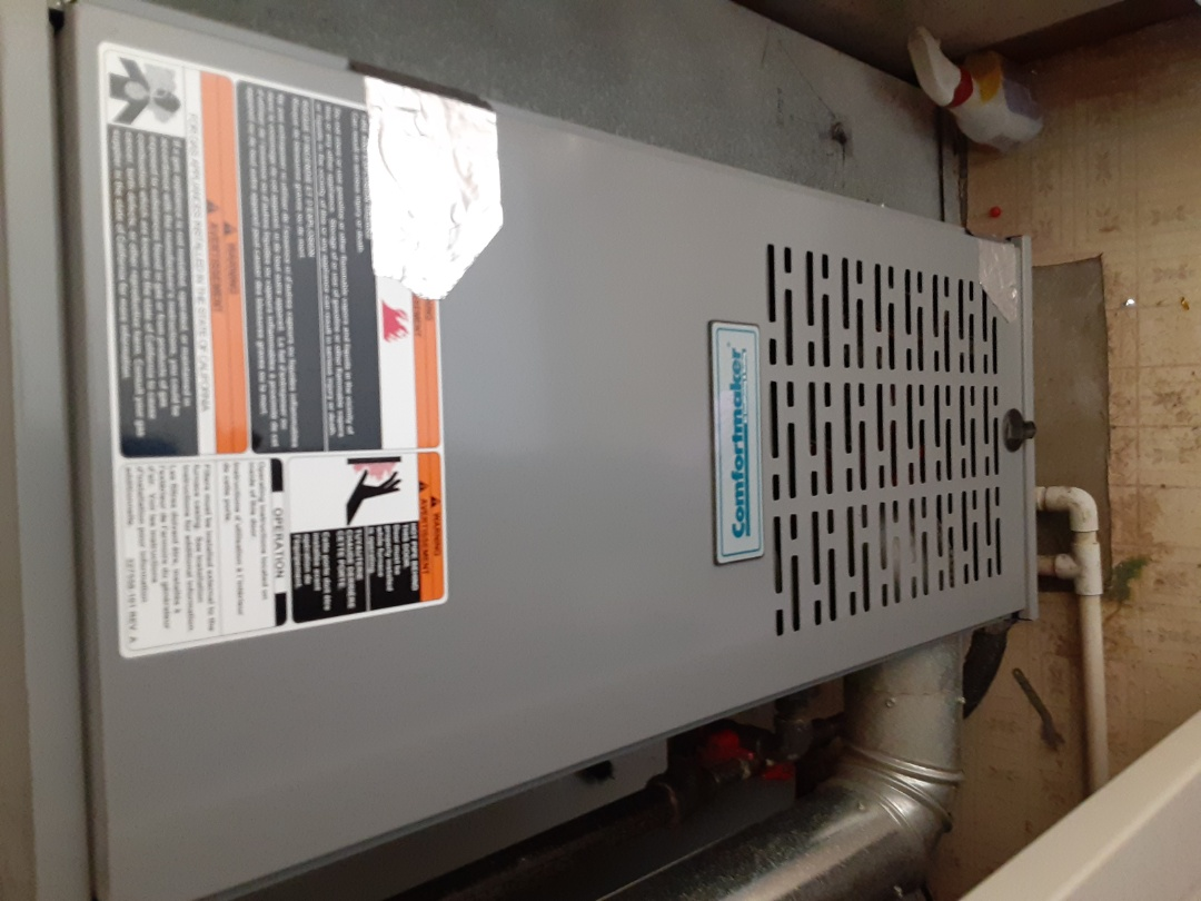 Aurora, IL - Complete furnace maintenance. Replaced filter. Recommend a duct cleaning.