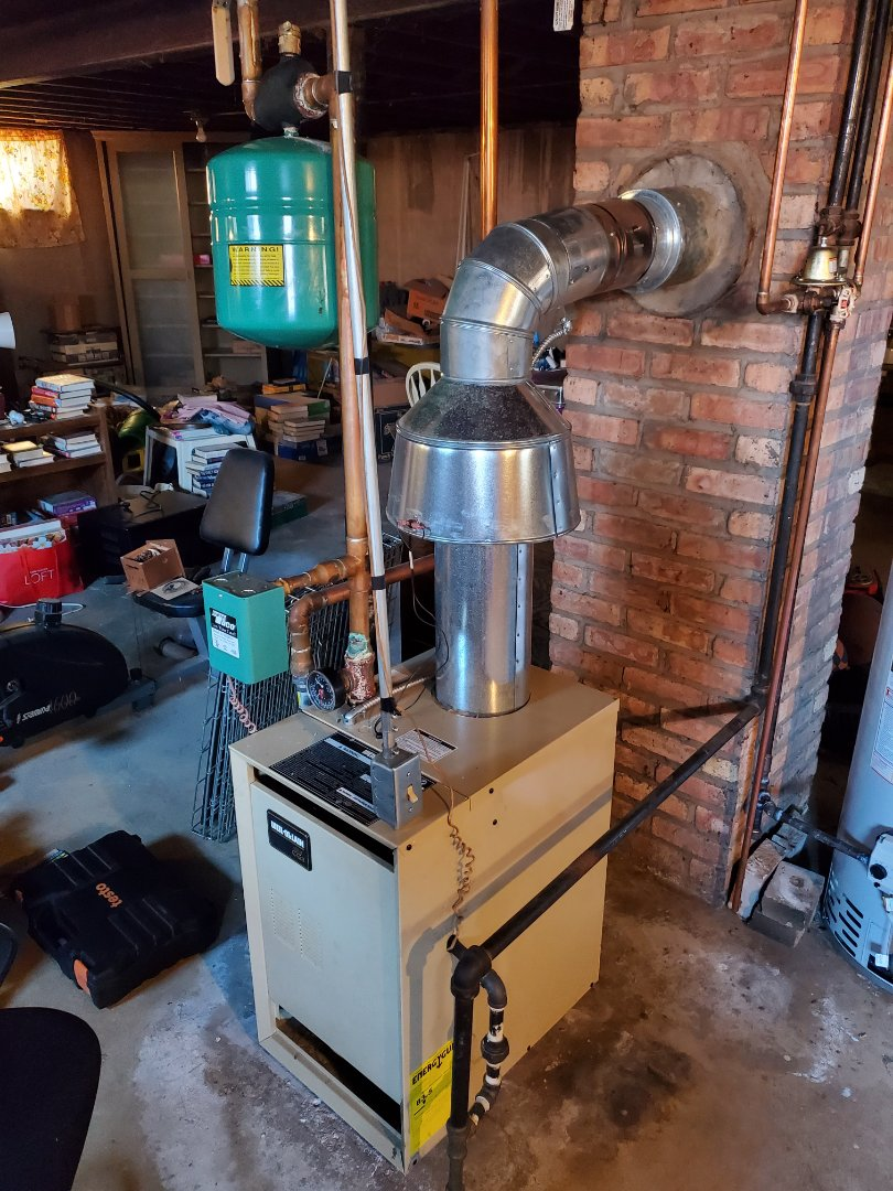 Lemont, IL - Successfully completed boiler maintenance for our comfort plus member!