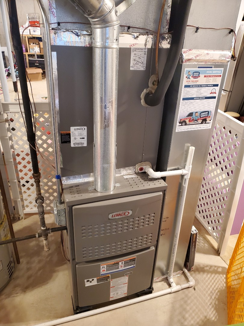 Bolingbrook, IL - Successfully completed furnace maintenance for our comfort plus member!