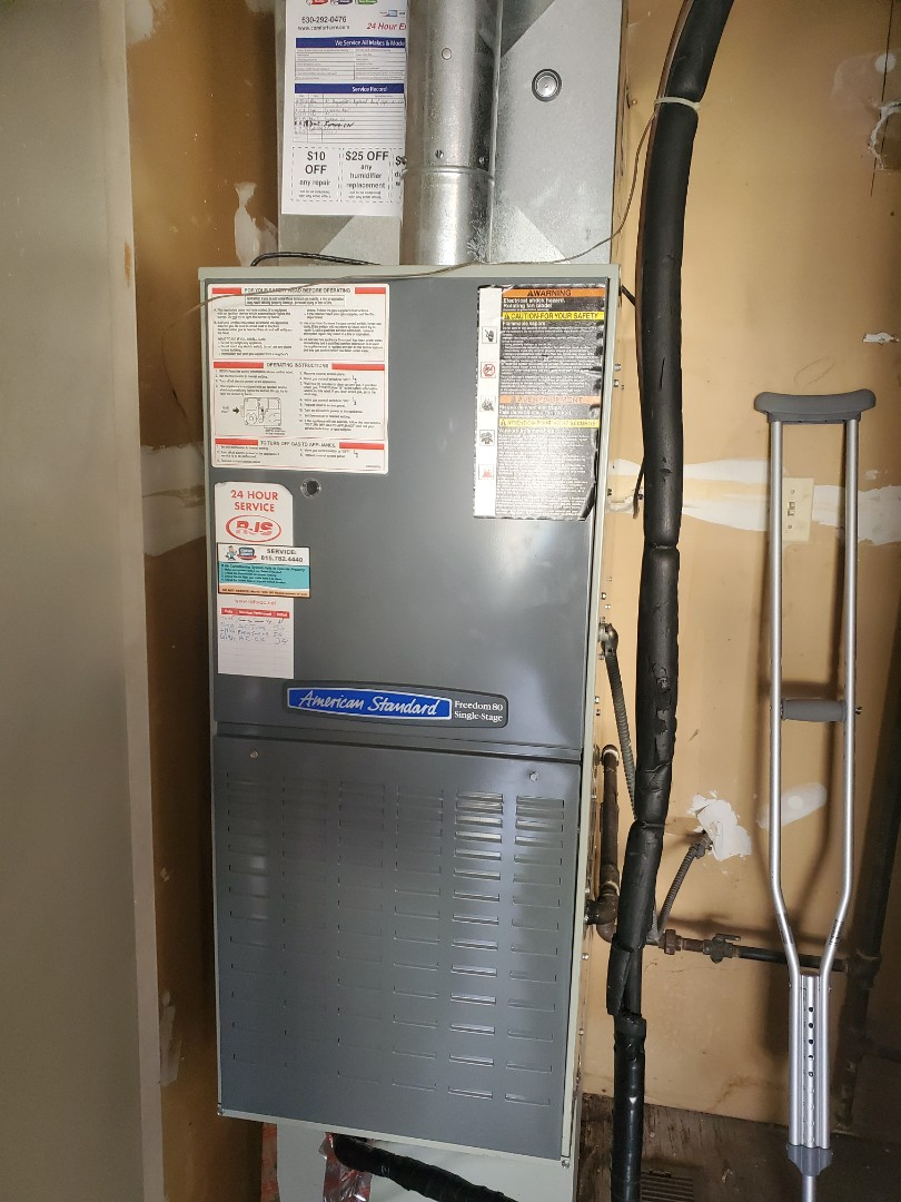 Naperville, IL - Successfully completed furnace maintenance with little to no problems for our comfort plus member!