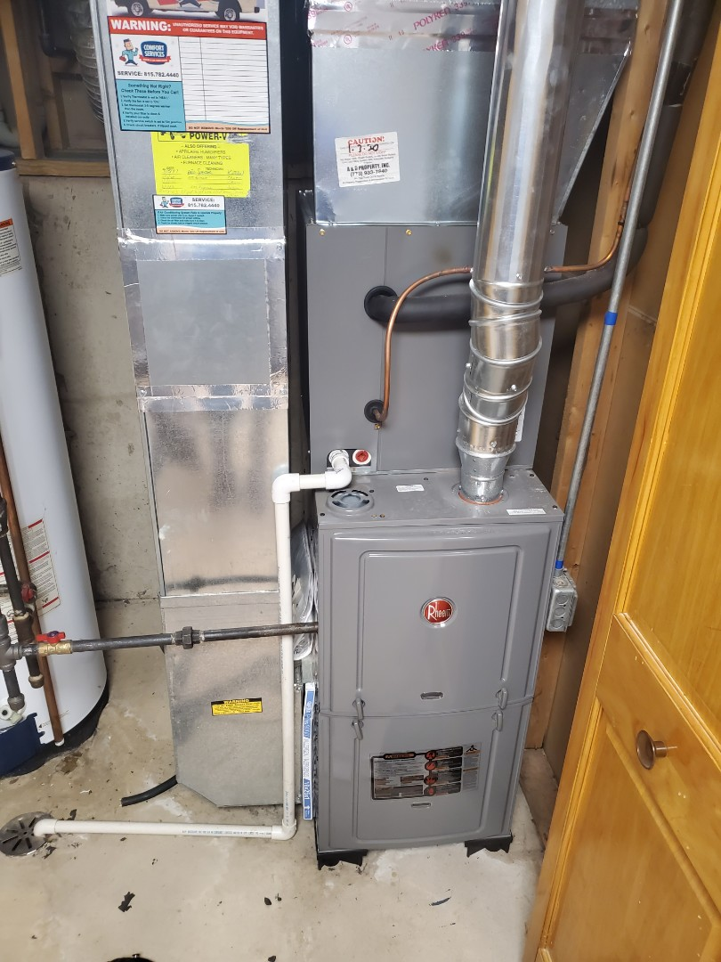 Successfully completed furnace maintenance with little to no problems for our comfort plus member!