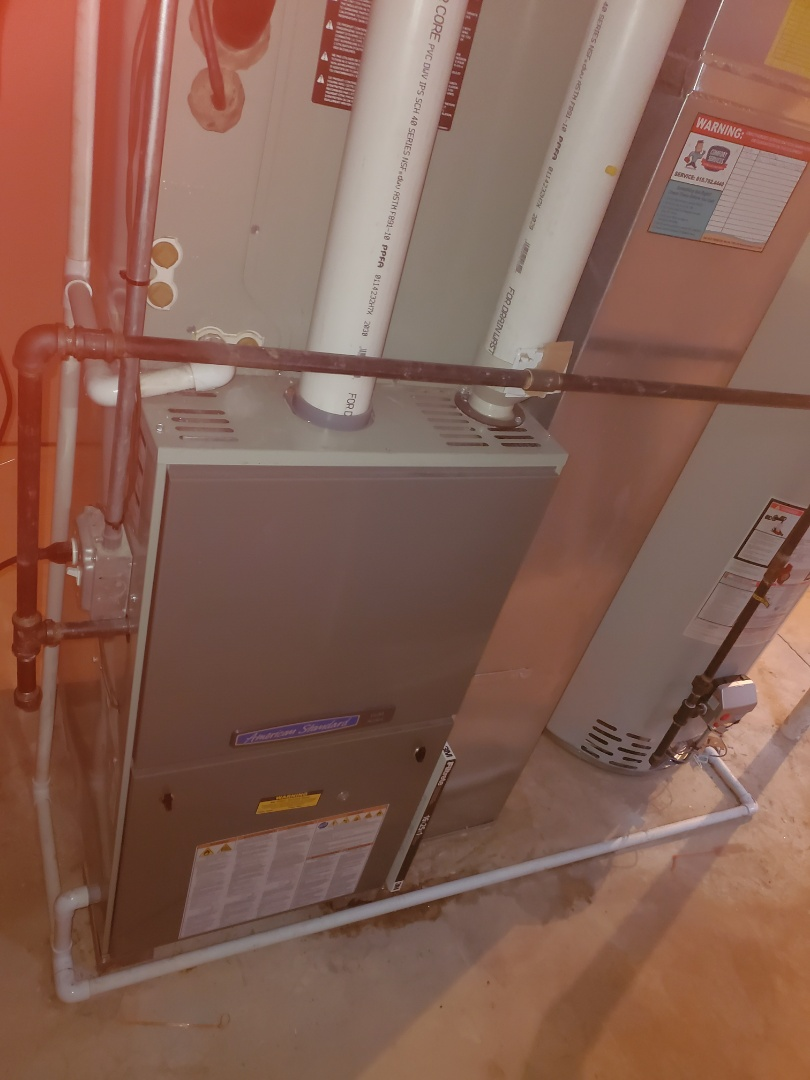 Aurora, IL - Successfully completed furnace and humidifer maintenance for our comfort plus member!