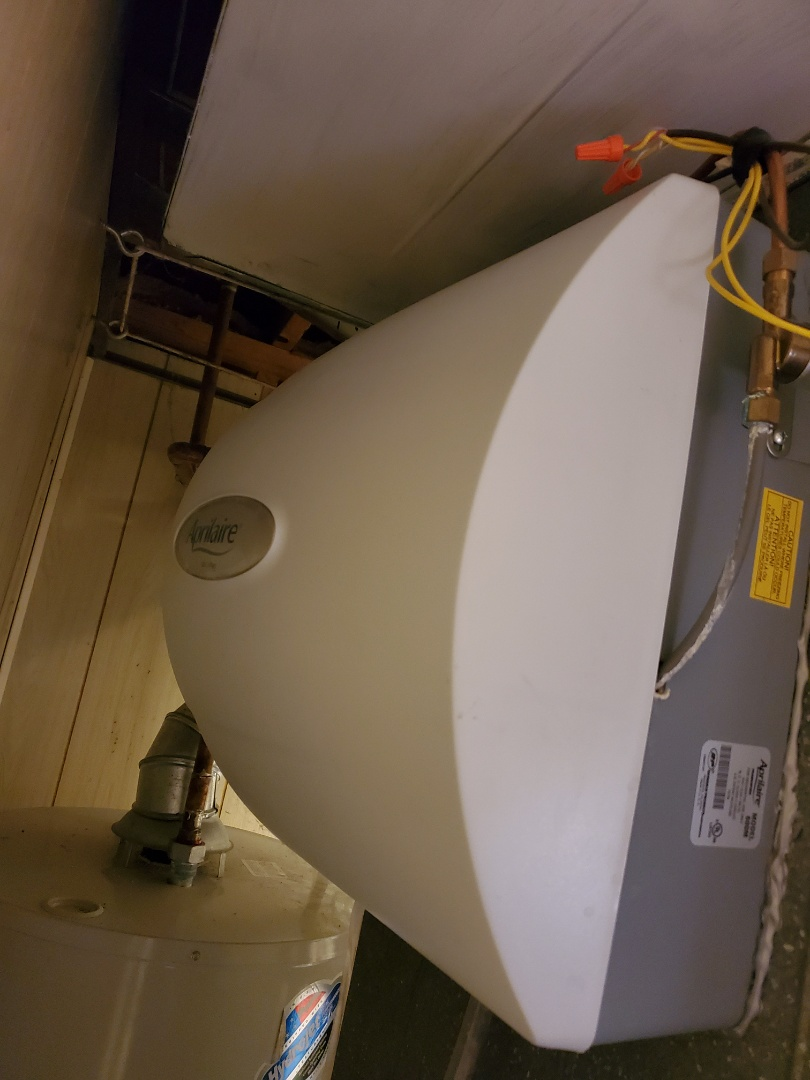 Naperville, IL - Successfully completed furnace and humidifer maintenance for our comfort plus member!