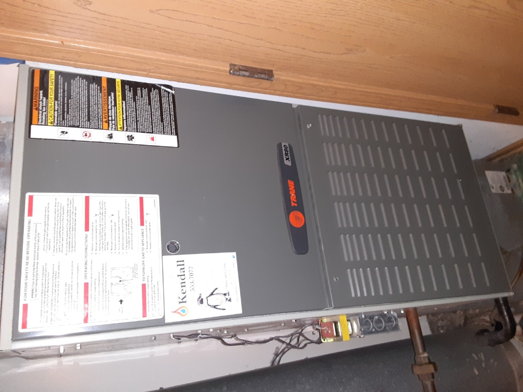 Yorkville, IL - Complete furnace maintenance. Attached recommendations to the invoice.