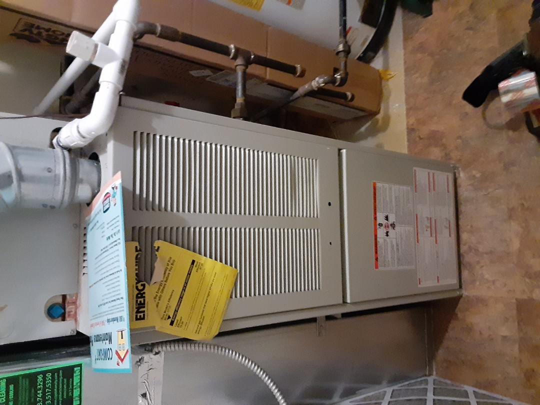 Complete furnace diagnostic. Replaced spark ignitor module.