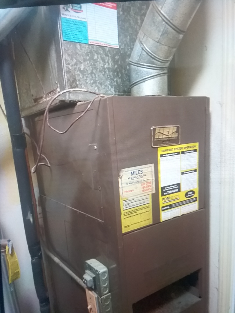 Aurora, IL - Completed furnace diagnostic on heil