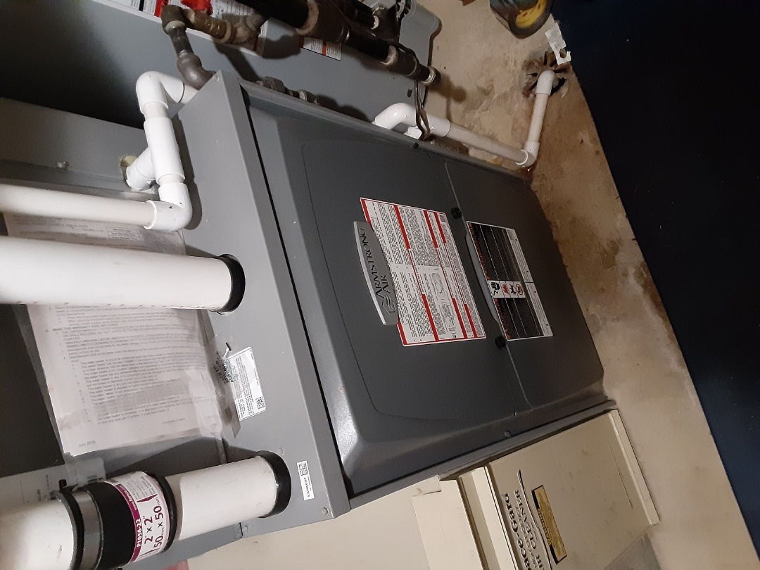 Aurora, IL - Complete furnace maintenance. Attached recommendations to invoice.