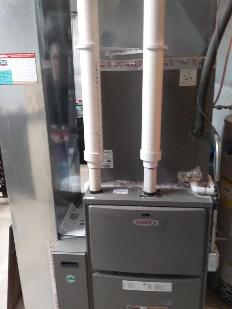 Bolingbrook, IL - Serviced a lennox furnace