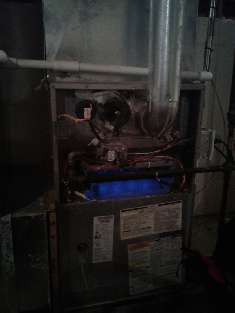 Yorkville, IL - Carrier furnace maintance complete