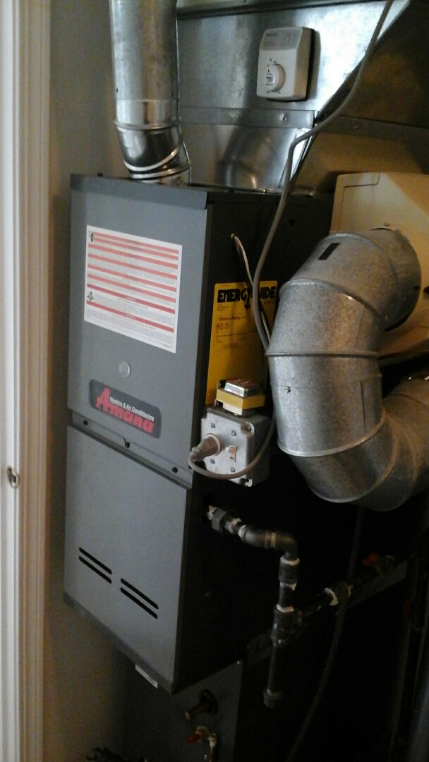 Crest Hill, IL - Complete Amana furnace install