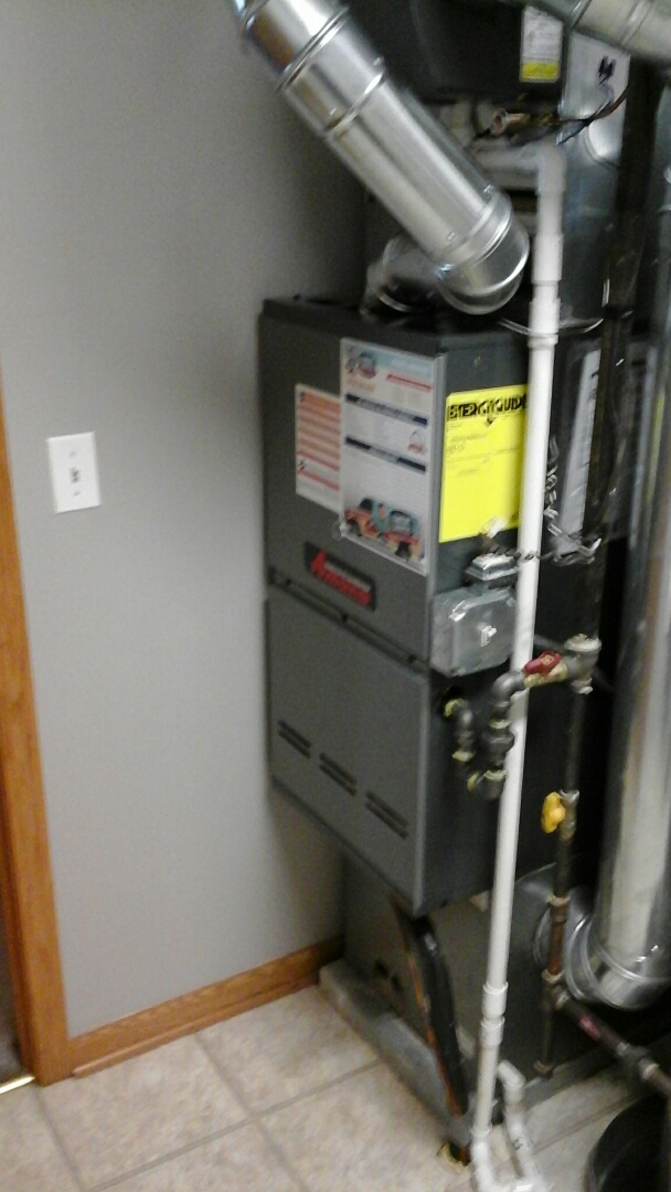 Romeoville, IL - Complete amana furnace and humidifier install