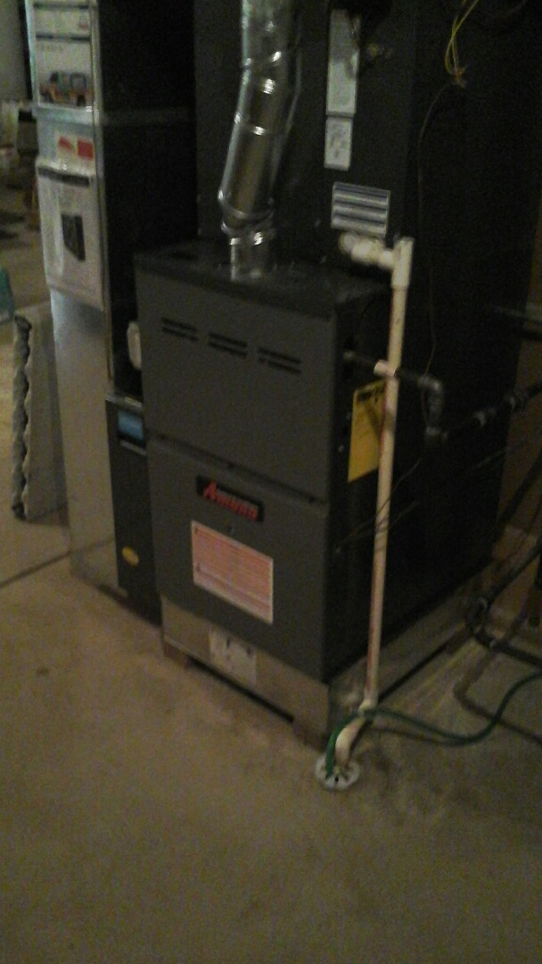 Crest Hill, IL - Complete amana furnace and a/c install