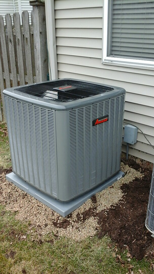 Aurora, IL - Complete amana furnace and a/c install