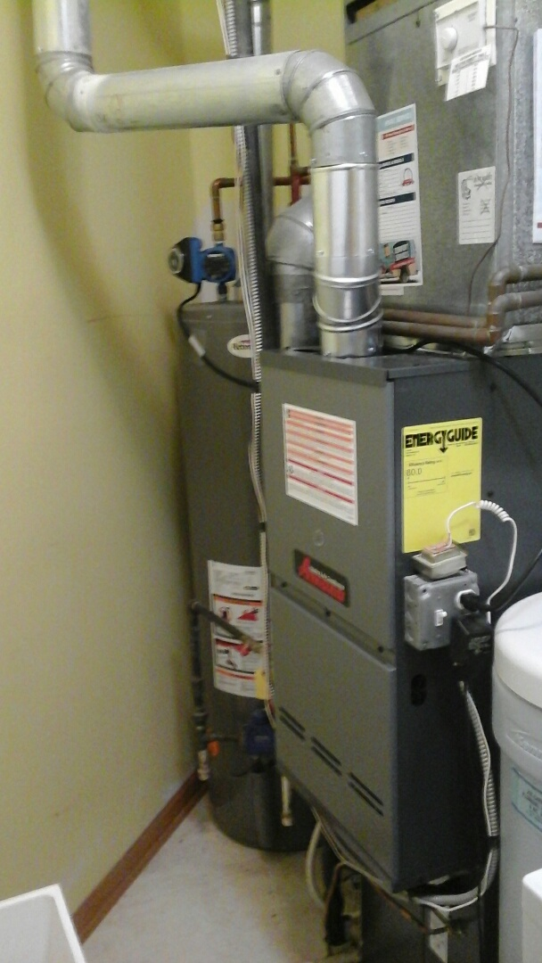 Plainfield, IL - Complete furnace & a/c install