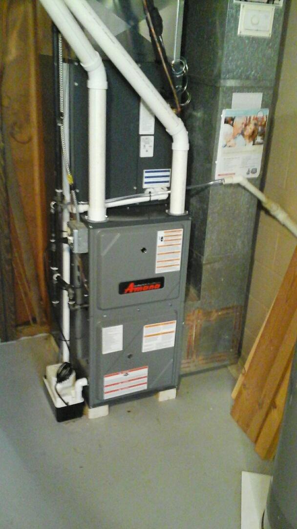 Joliet, IL - Complete amana furnace,a/c install