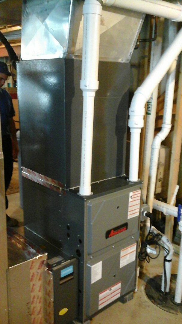 Joliet, IL - Complete amana furnace and a/c install