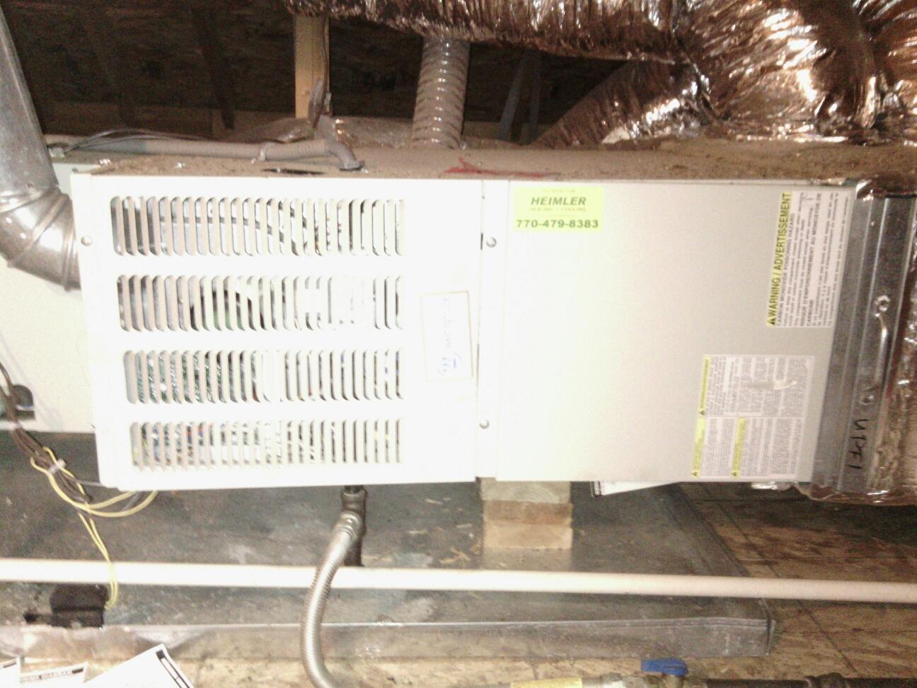Dunwoody, GA - Furnace repair Nordyne/ Westinghouse.