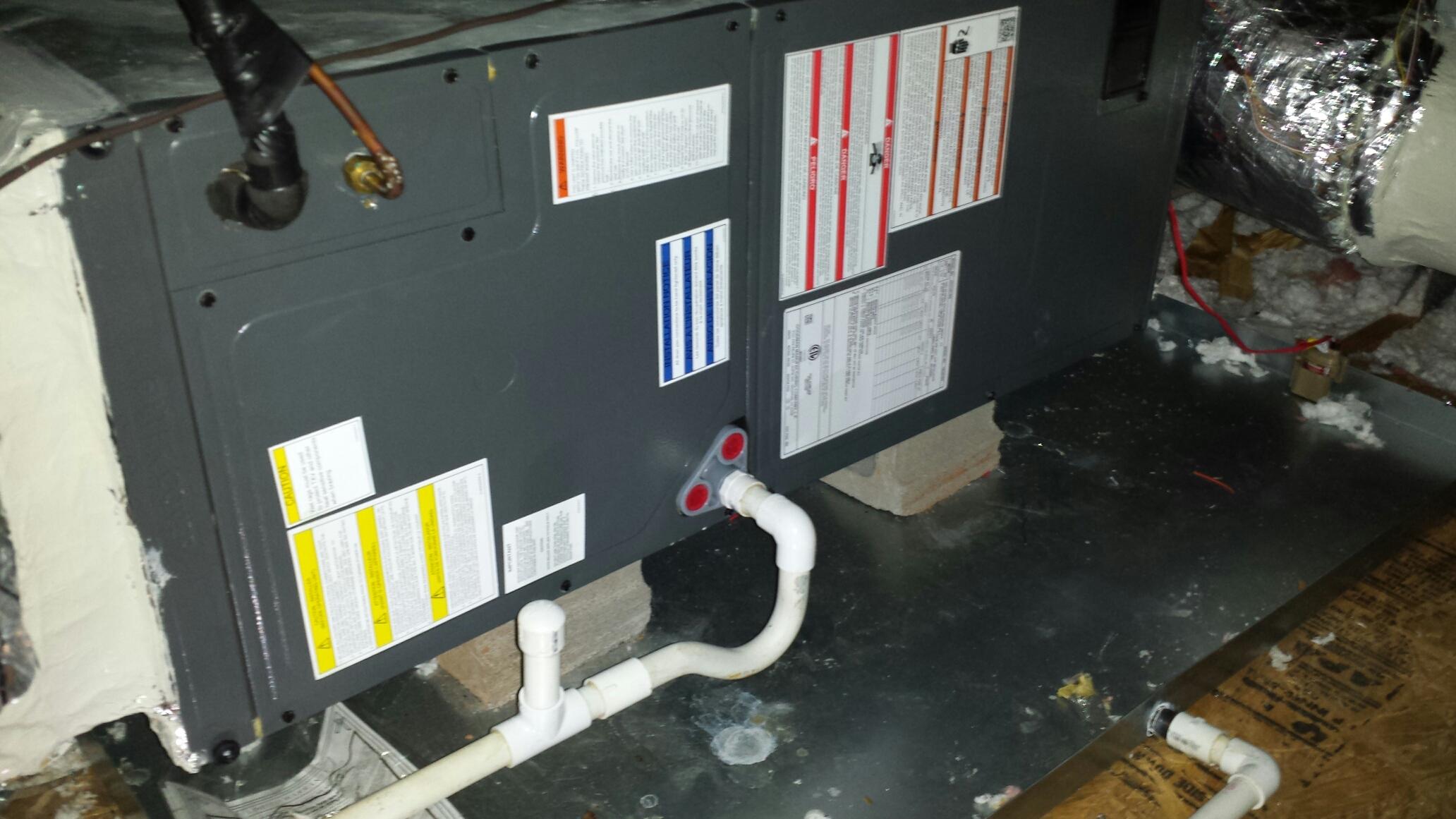 Rex, GA - Ac maintenance on 1 Goodman heat pump system
