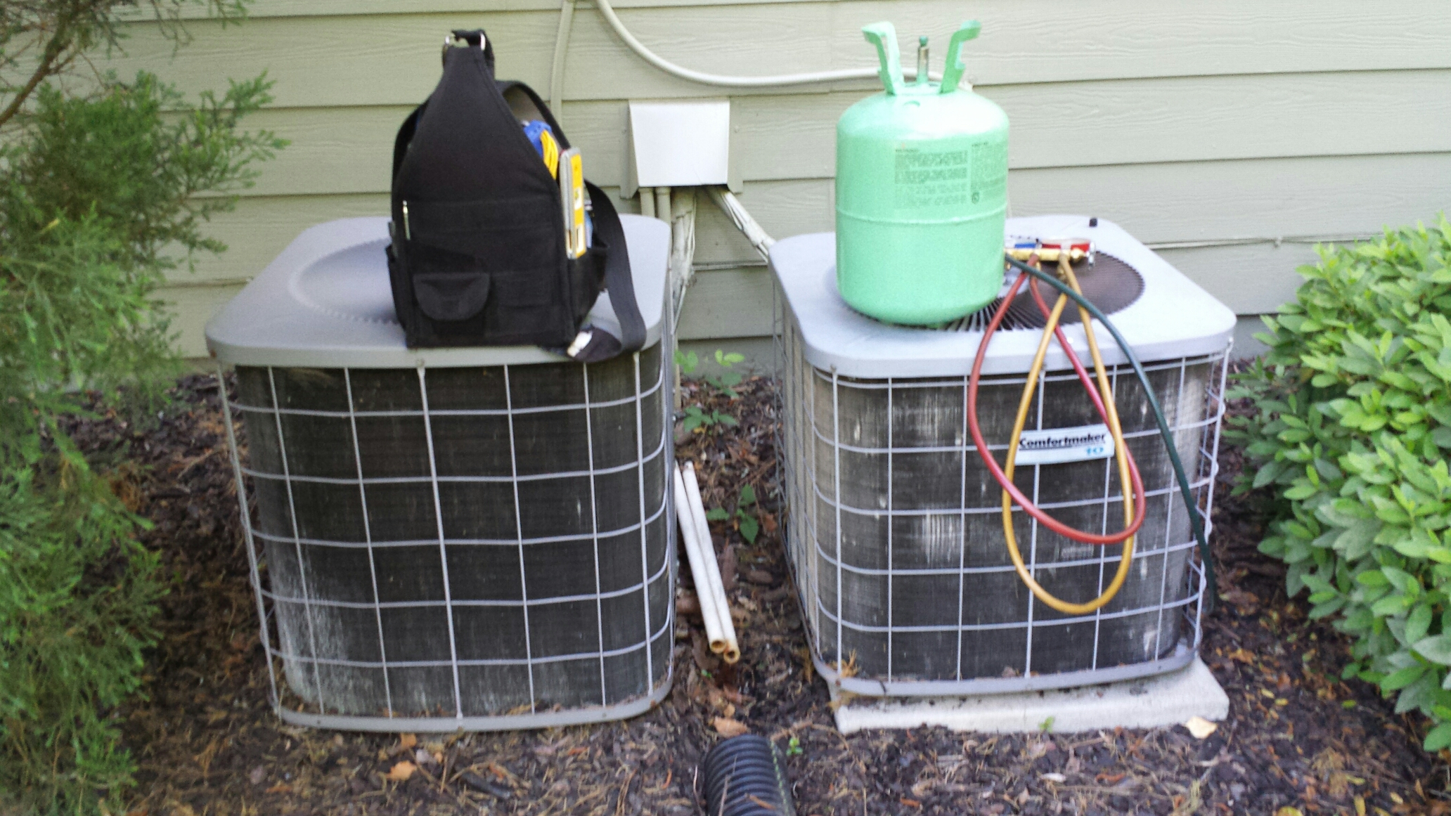 Buford, GA - Continued ac service on comfort maker systems