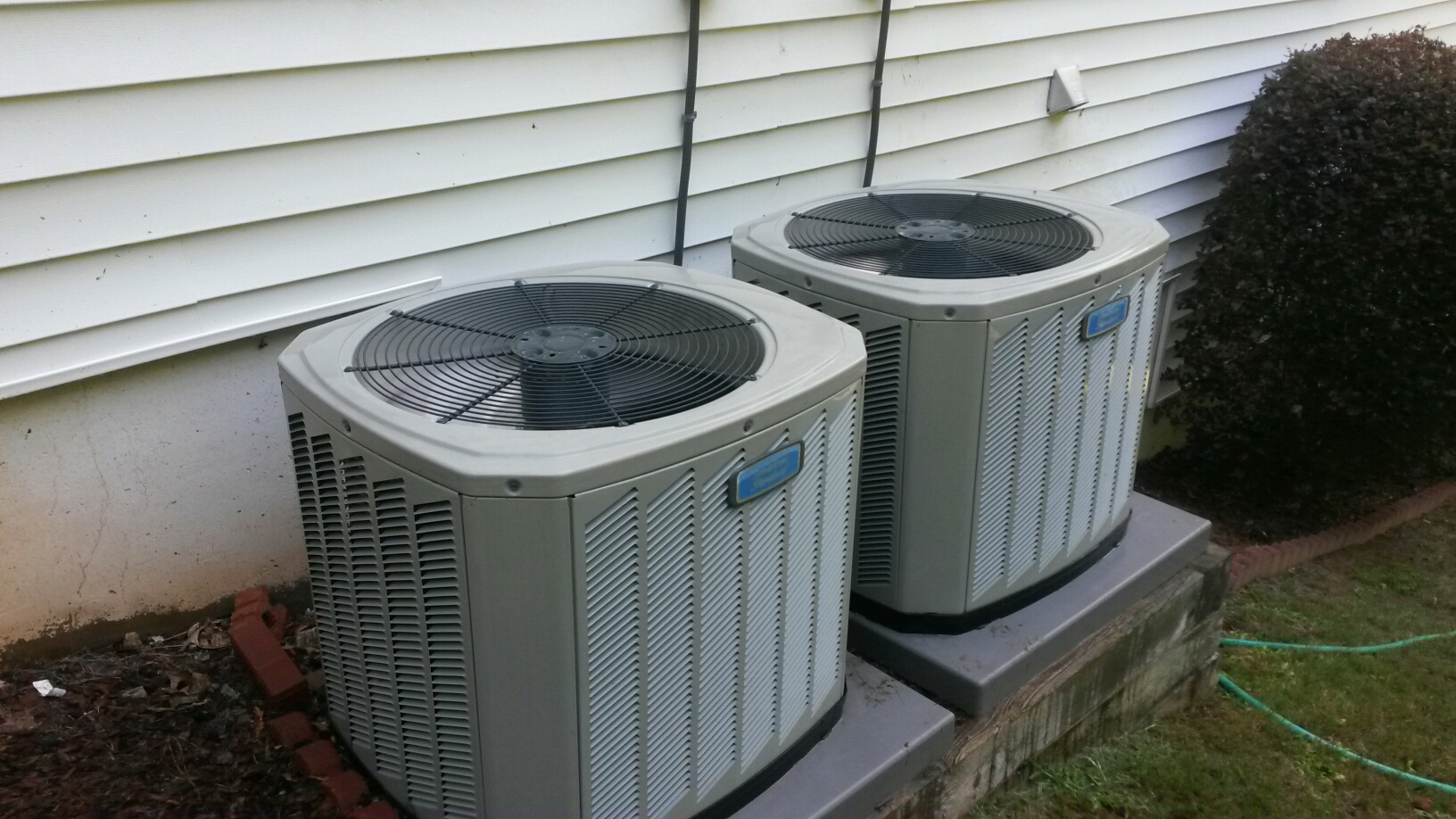 Austell, GA - Performed 2 tune ups on  American Standard condensers