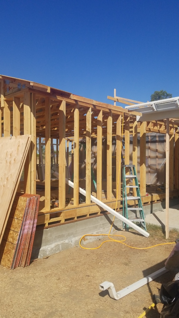 Elverta, CA - room addition going slow but progressing